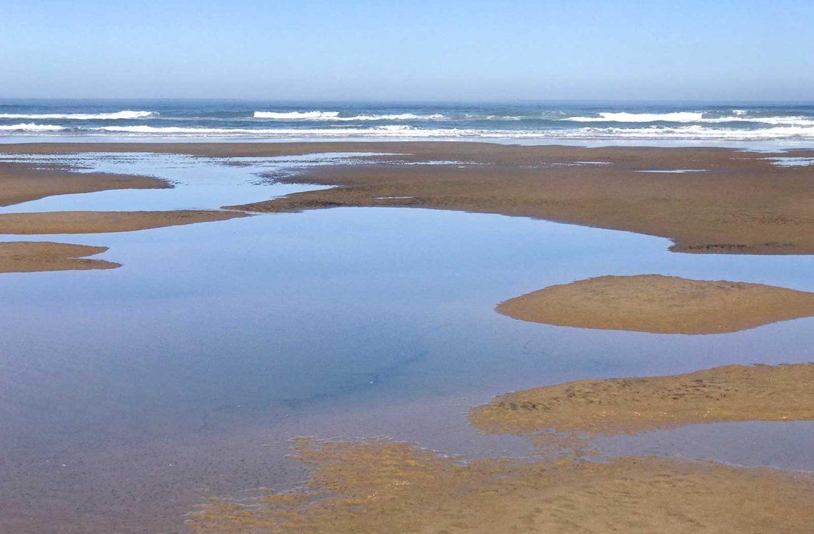 Yachats at Low Tide