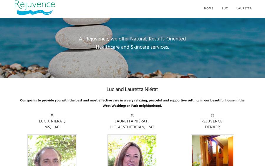 Website Client - Rejuvence Denver